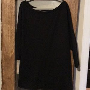 Saks 5th Avenue the vanity room black tunic